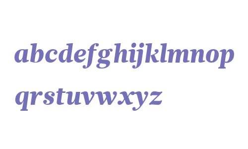 Glosa W01 Text Black Italic