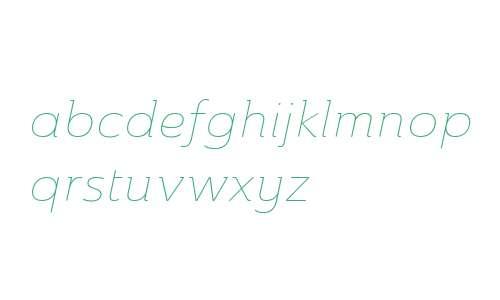 Ainslie W01 Ext Thin Italic V2
