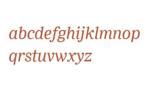 Ysobel W04 Italic