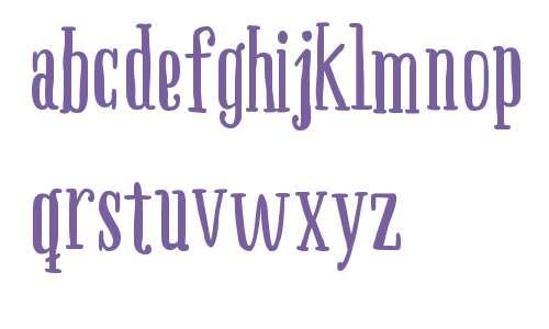 Boho Serif W00 Bold