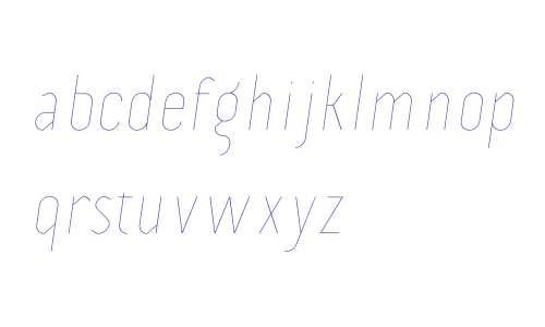 Prevya Display W00 Light Italic