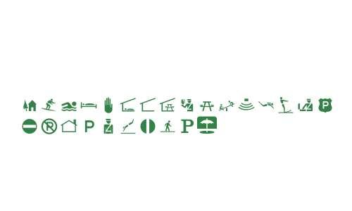 PIXymbolsTravel Italic