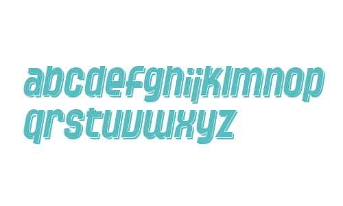 SF Speedwaystar Shaded Italic