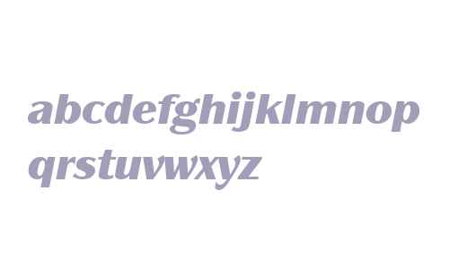 Panache ITC W04 Black Italic