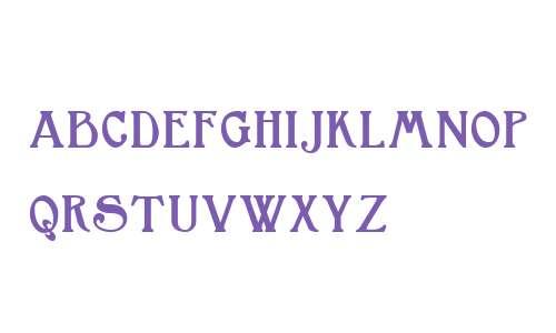 Bromwich Small Capitals W01 Bd