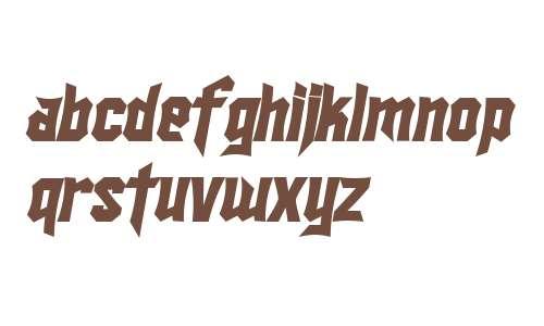 SF Ironsides Bold Italic V2 V2
