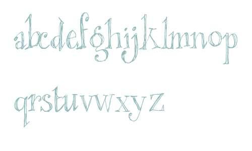 blackout serif