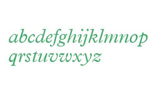 Terminus Light SSi Light Italic