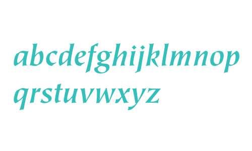 ITC Tiepolo Bold Italic