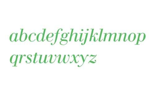 WTC Our Bodoni W03 Italic