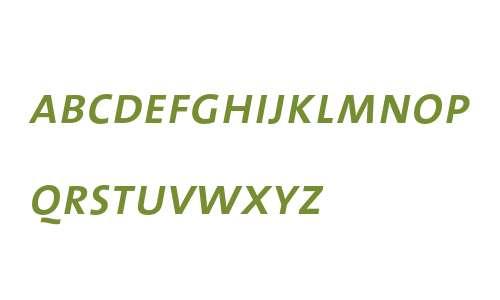 TheSans SemiBold Caps Italic