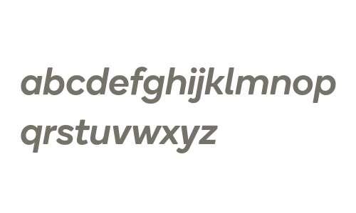 Qualcomm Next Medium Italic
