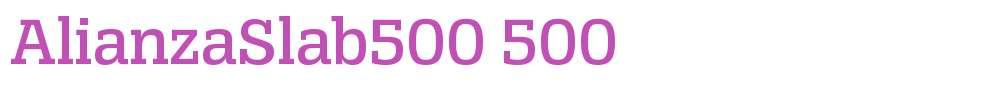 AlianzaSlab500