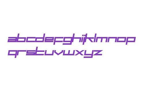 SF Square Head Bold Italic V1 V2