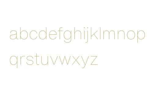 Helvetica Now Text Thin