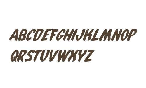Whatafont Italic V1