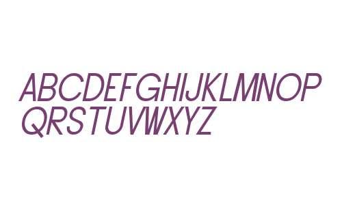 SF Buttacup Lettering Oblique V2 V2