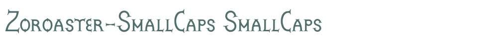 Zoroaster-SmallCaps