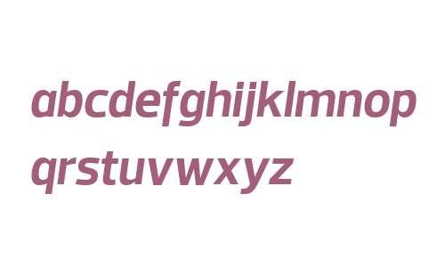 Prelo W04 Bold Italic
