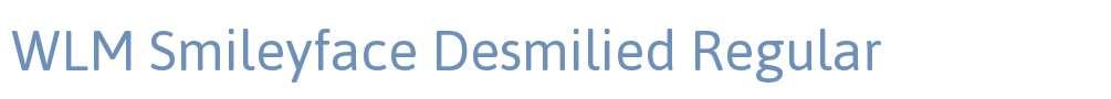 WLM Smileyface Desmilied
