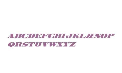 Legal Tender Italic