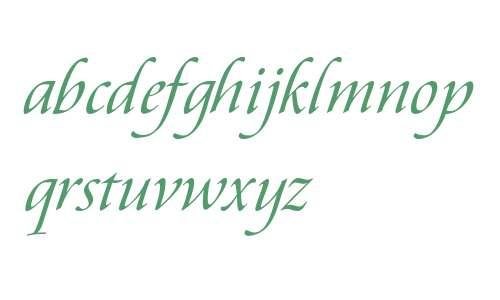 Aramis Italic V2