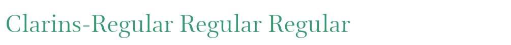 Clarins-Regular Regular