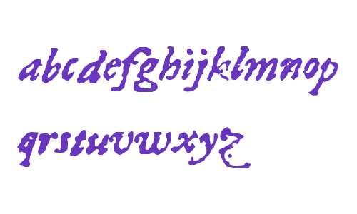 1689 Almanach W00 Italic