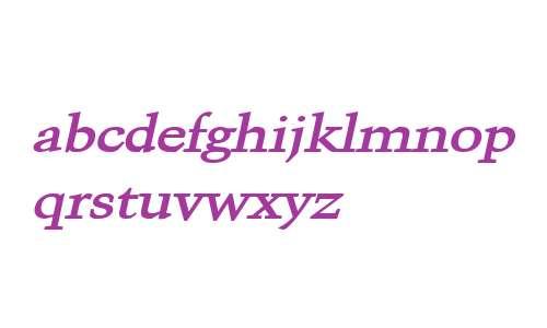 Congo Wide Bold Italic