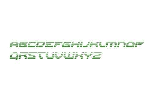 Xeno-Demon Gradient Italic