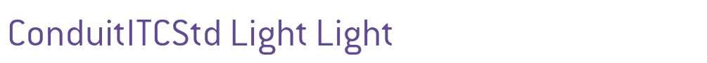 ConduitITCStd Light