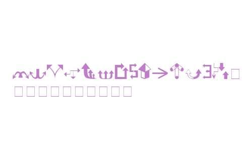 Carr Arrows (filled) V1