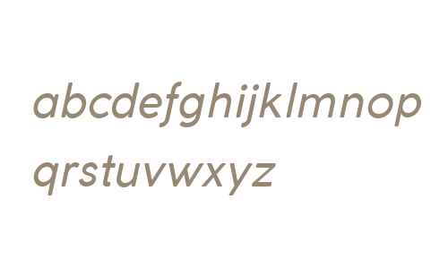 Coco Gothic Italic