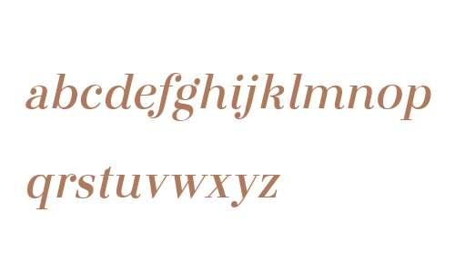 Otama W00 SemiBold Italic