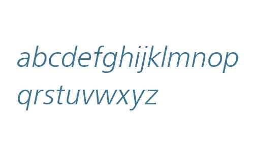 FreeSetLight Italic W08 Rg