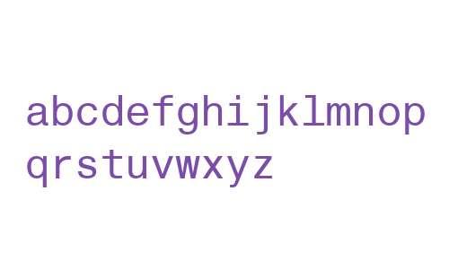 Helvetica Monospaced W06 Rg