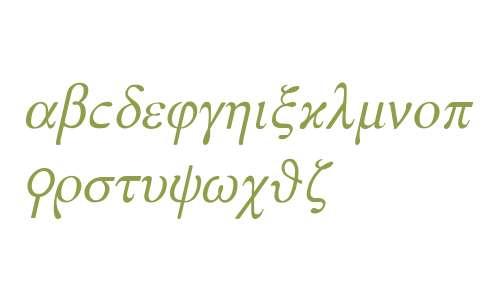Esopo Italic: