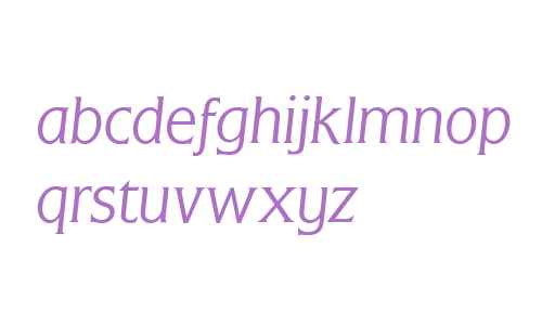 Flange (R) Light Italic