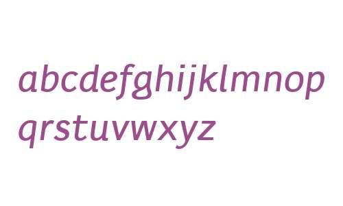 Karlo Sans W00 Medium Italic