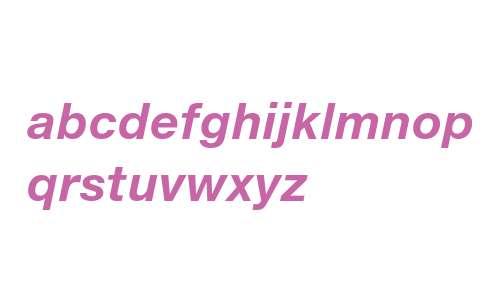 Helvetica Neue eText Pro Bold Italic