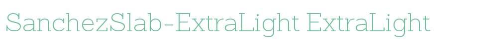 SanchezSlab-ExtraLight