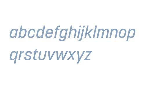 Korolev W04 Medium Italic