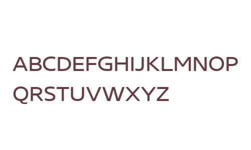 Core Sans NR W01 SC 43 XRegular