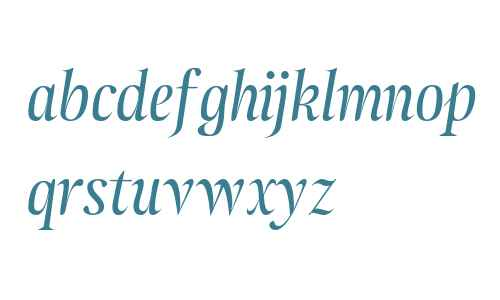 Atlantica Display OSF Italic