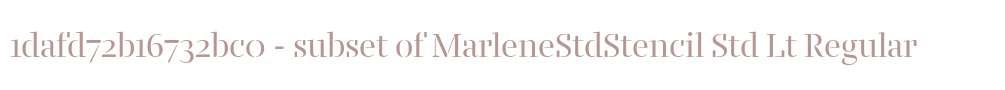 1dafd72b16732bc0 - subset of MarleneStdStencil Std Lt