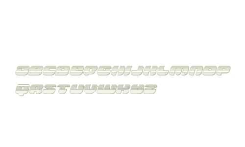 Groovy Smoothie Chrome Italic