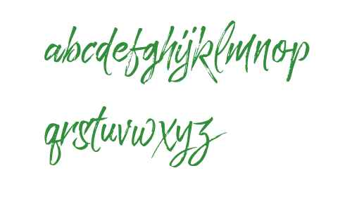 Paradise Typeface Free Demo Regular