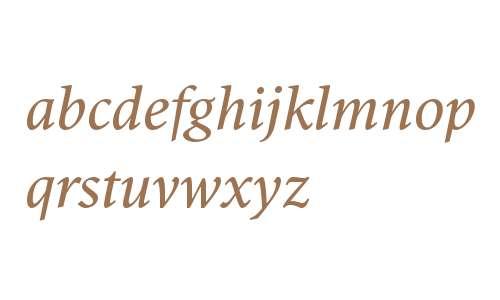 Antium W00 Italic