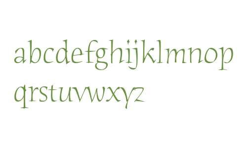 Humana Serif ITC Light