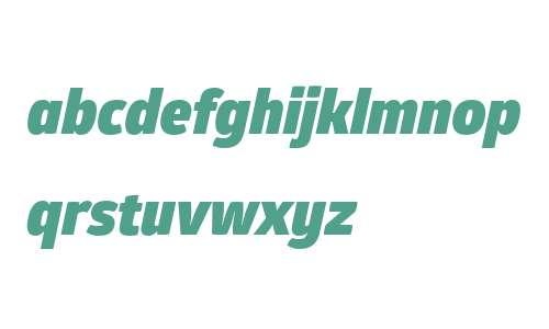 Glober W01 Black Italic